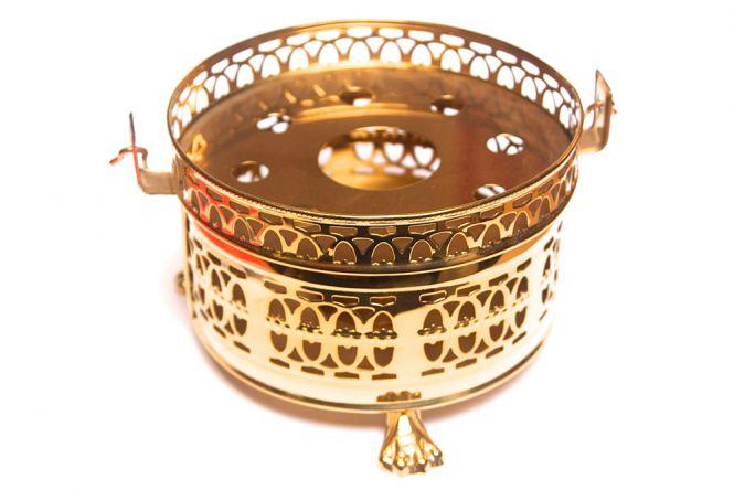Ostfriesisches Silber-Stövchen (rund)