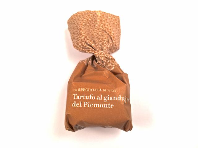 Tartufo al gianduja del Piemonte
