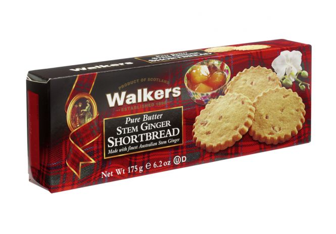Stem Ginger Shortbread