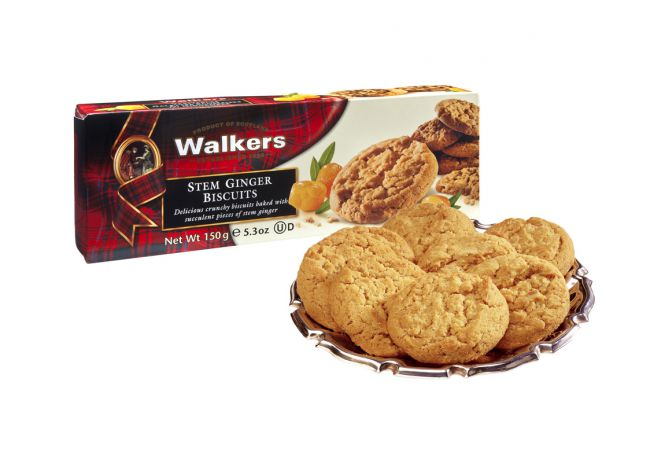 Stem Ginger-Biscuits